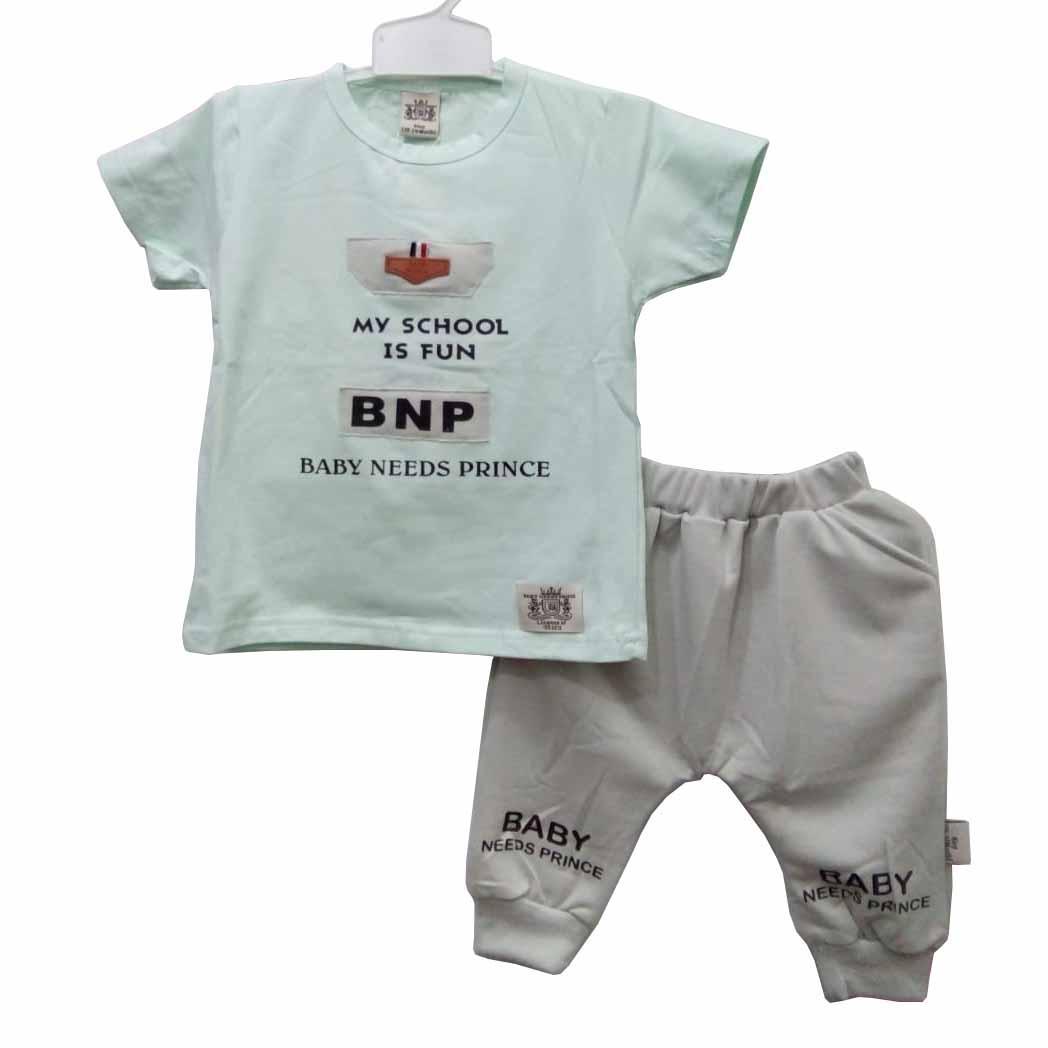Baju Bayi Laki laki Stelan BN0806 Tosca (12-18 bulan)
