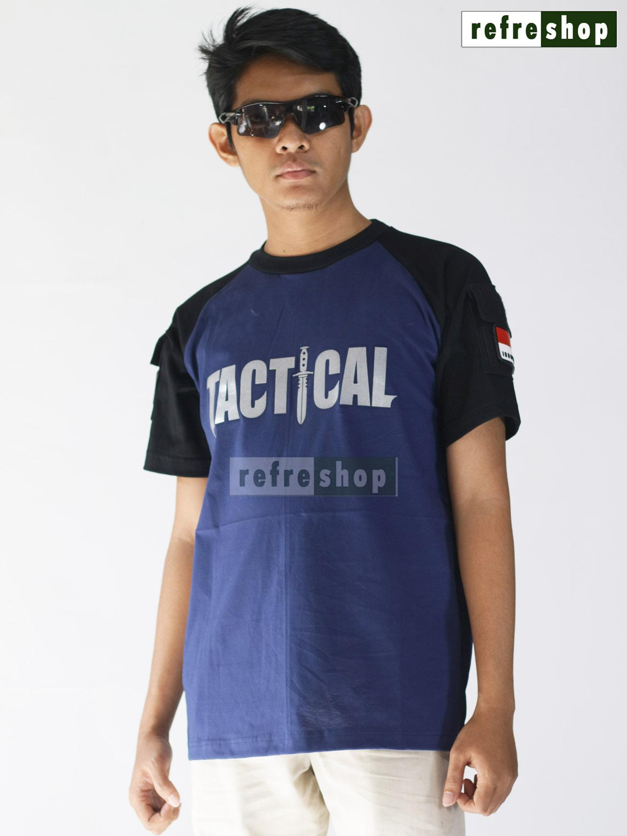 Kaos Tactical Army Lembut Nyaman Kain Cotton Tebal Adem Militer TNI Polisi KTC0102DD Awet Berkualitas
