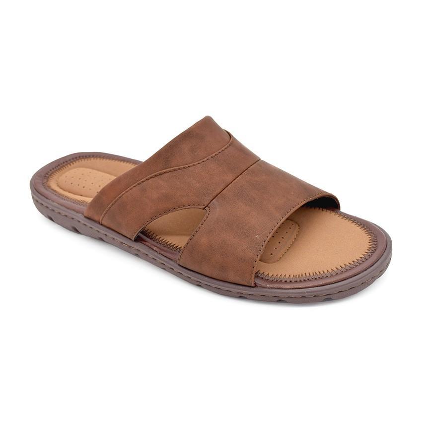 BATA COMFIT Sandal Pria ROST Brown 8714443 ukuran 43
