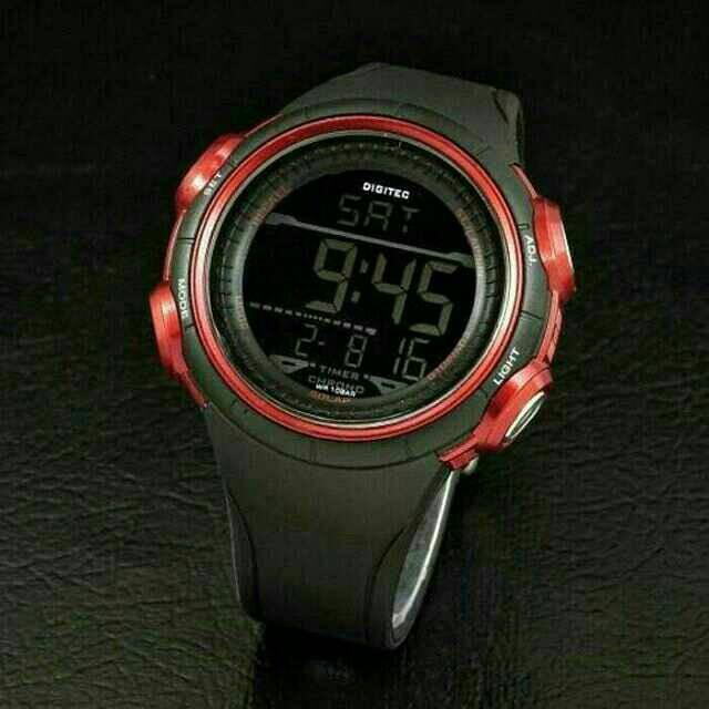 Jam Tangan Pria Merk Digitec Type : 2103 Baterai
