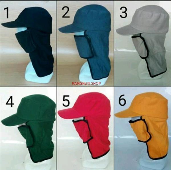 Topi Masker Untuk Topi Mancing dan Topi Gunung Anti Panas - RS