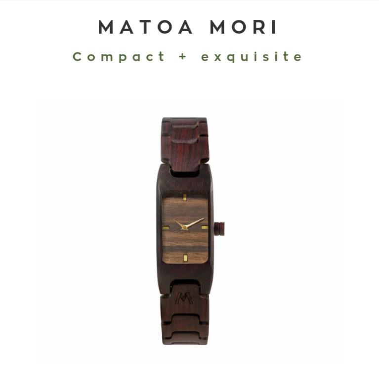 Matoa Mori - woodenwatch - vc01M