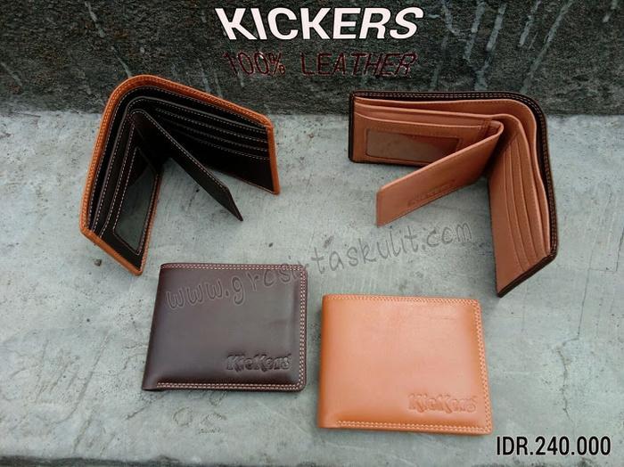 Dompet Kickers Z99K Kulit Asli Sepesial Berkualitas Durable - Dompet Pria Kulit Asli - Dompet Kulit Asli Banyak Slot Kartu