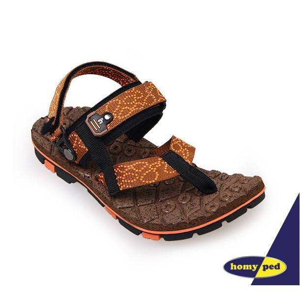 HOMYPED TAZMANIA 03 Sandal Anak Brown/Orange