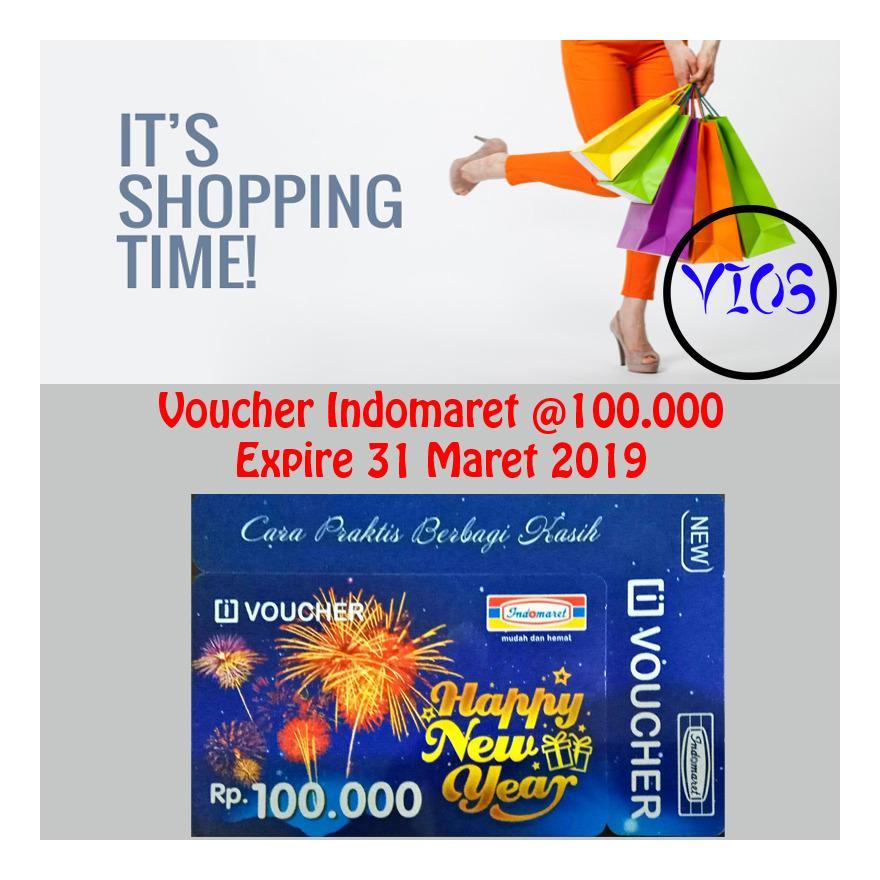 3 Voucher Indomaret @100.000