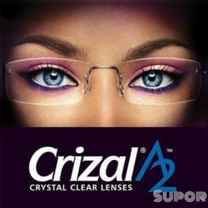 Lensa Progresif Essilor crizal A2 Small Fit kacamata kaca mata