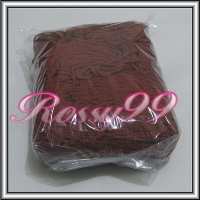 Tali Kur Nylon Maroon M2 Talikur Makrame Rajutan Tas Gantung paper bag - mll0Ff