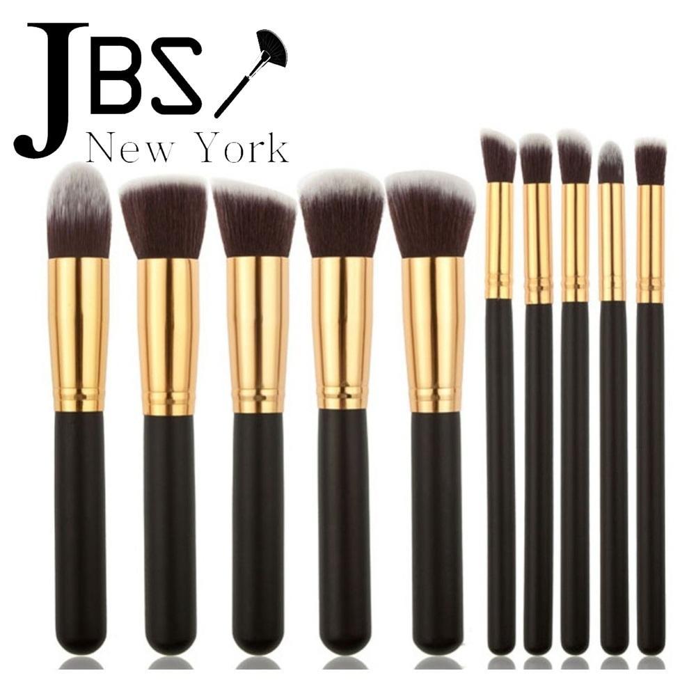 JBS New York FREE ONGKIR Kuas Makeup Brush Set 10 Set - Make Up Set /
