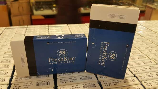 Softlens / Acessoris Softlens freshkon 58 monthly Promo