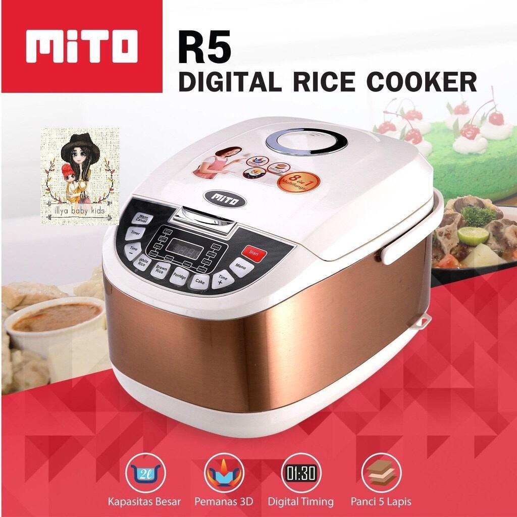 Harga Yong Ma Mc 3560 Digital Rice Cooker Rp 999000 Magicom Mc3560 Mito R5 Plus 8in1 Gold 2 L