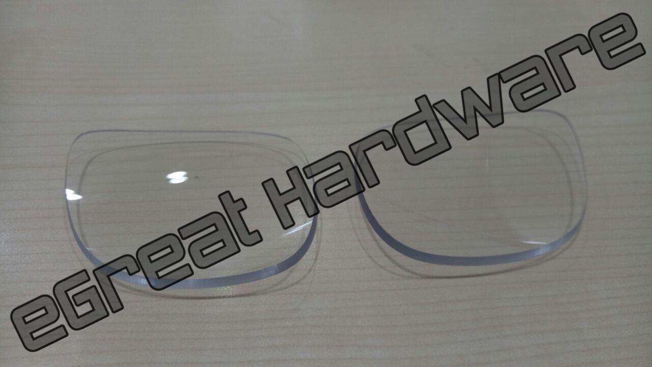 Lensa Bening Kacamata Safety Proyek Side Shield Safety Glasses McDermott / Saipem