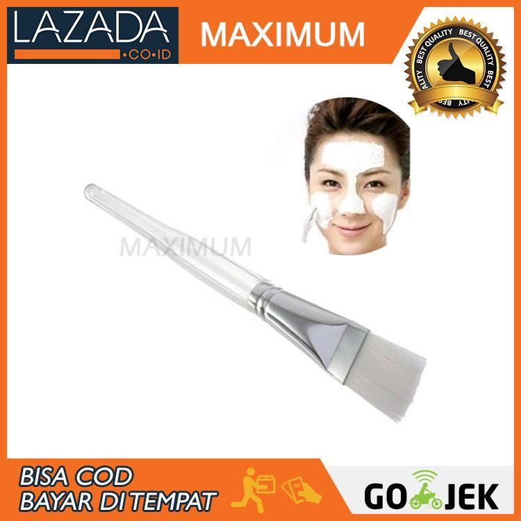 Max COD - Kuas Makeup - Kuas Masker Untuk Wajah Brush Mask - Putih
