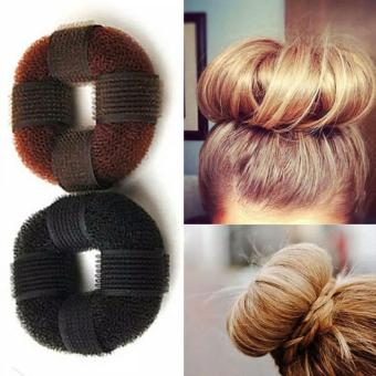Harga Penawaran Anneui - Odango Hair Base Alat Untuk Membuat Rambut Cepol Donat Dengan Velcro discount