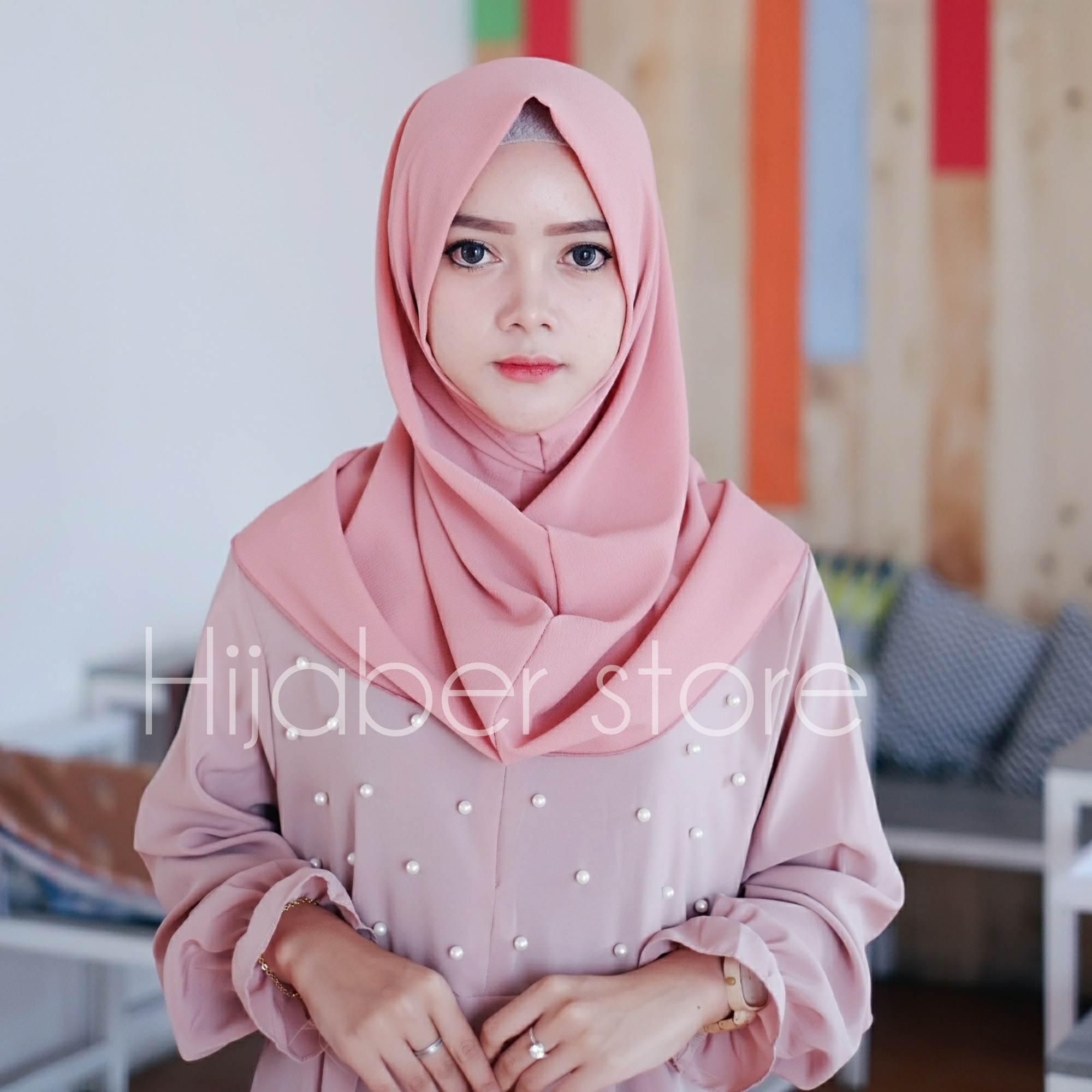 PROMO Jilbab Hijab Instan Shalwa Kerudung Instan Salwa Bahan Bubble Premium