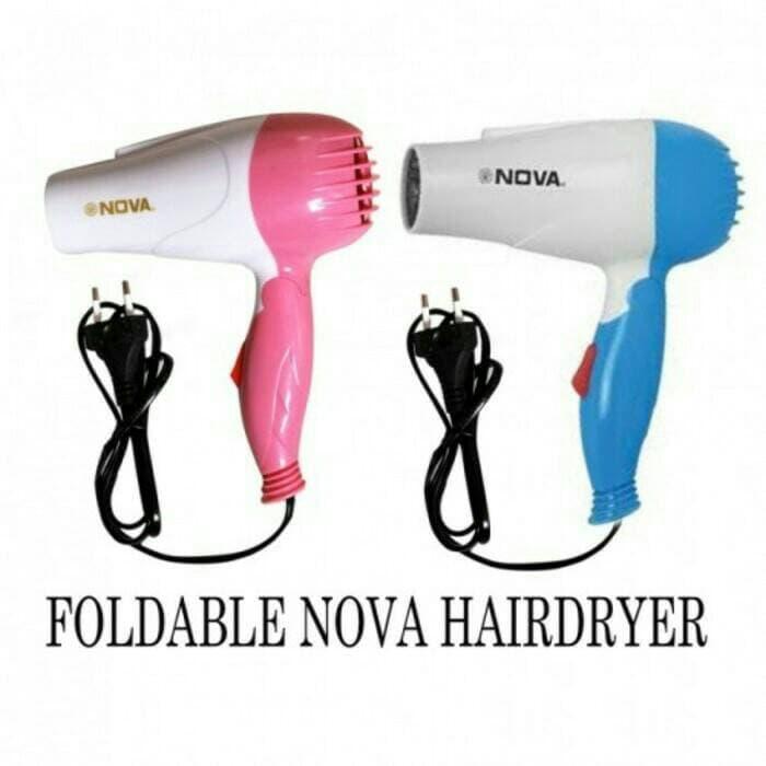 Hair Dryer Lipat-Alat Pengering Rambut Nova N 658 By Grosirkemeja.