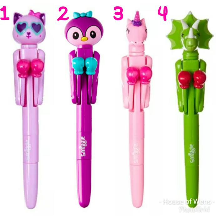 Smiggle Boxing Pen - Pulpen Smiggle