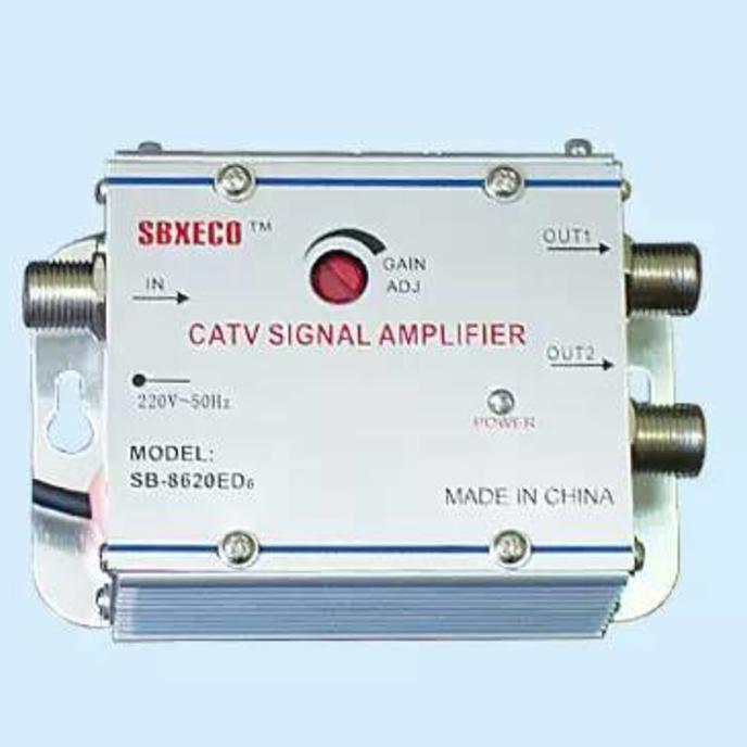 SPECIAL!! Boster Antena Tv / Penguat Sinyal Tv 2 Way