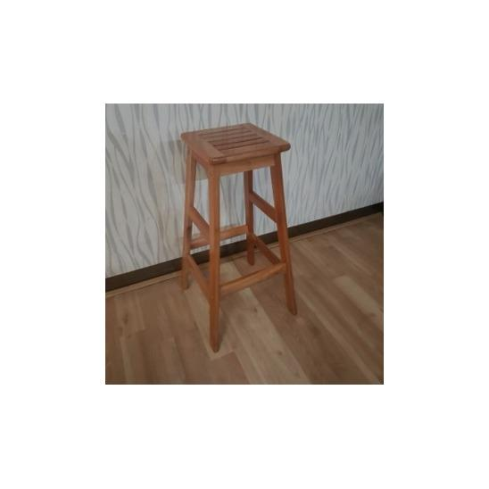 Kursi bar kayu 75 cm