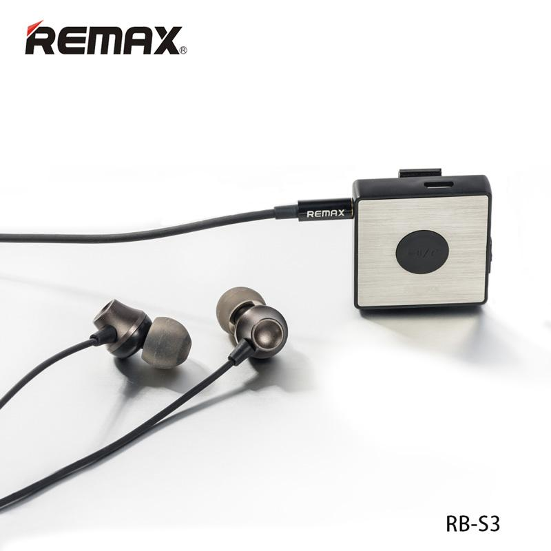 REMAX BT4.1 Clip-on bluetooth earphone / Receiver  RB-S3 Samsung S8, Xiaomi 4x, Mi 8, Note 8, Iphone X, Iphone 8, Oppo F5, Vivo V9, Sony, LG