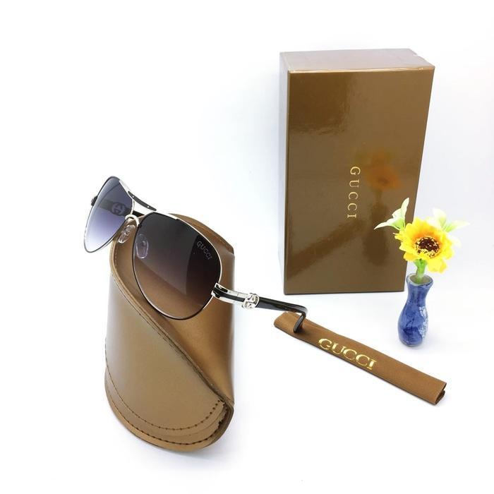 Kacamata / Sunglass Wanita Gucci M-160659 Fullset + Cairan Pembersih