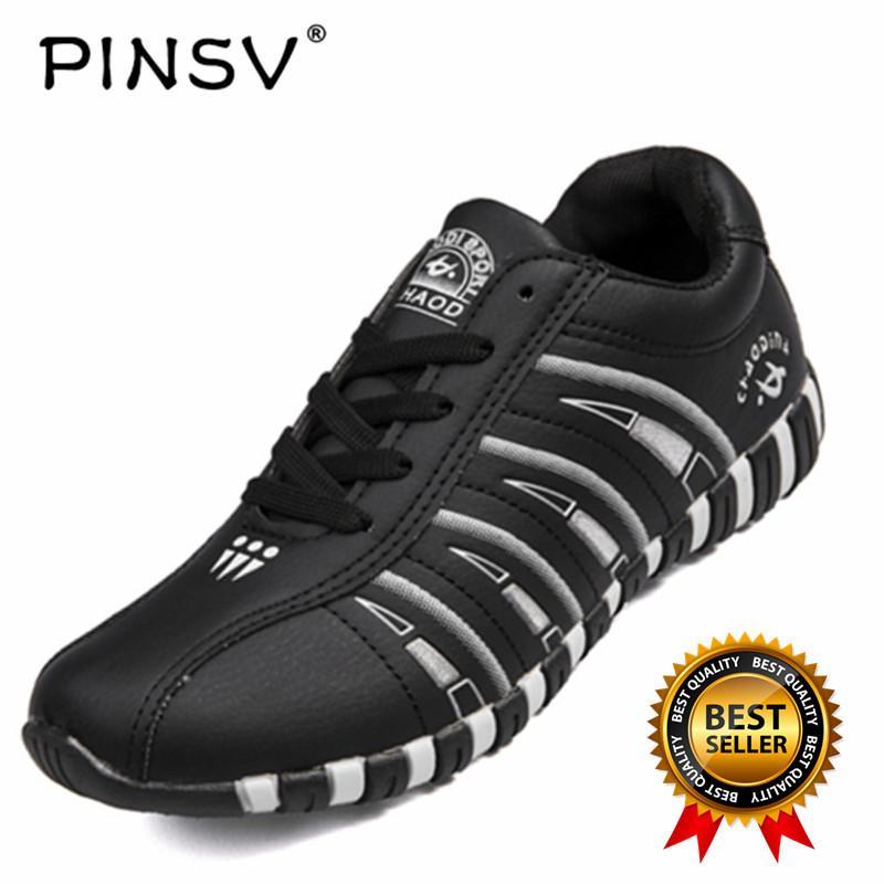 Pinsv Wanita Sepatu Olahraga Sepatu Bulu Tangkis (Hitam) e00eb0a0d1