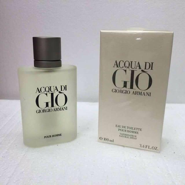 Giogio Arrmani Acqua Di Gio Men - 100 ml