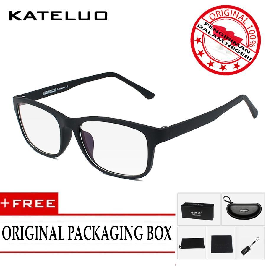 KATELUO 9219  Kacamata Anti Radiasi Komputer Pria Wanita Frame Original - Korean Fashion Style