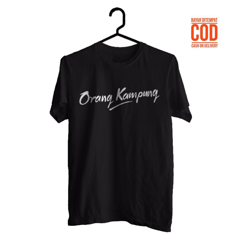 Kaos Distro Premium / Baju Distro  / Tshirt Casual Pria Wanita / Fashion Atasan / Kaos Tumblr / ORANG KAMPUNG