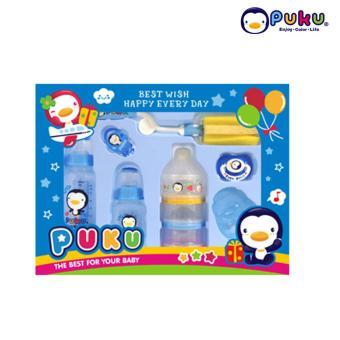 Beli sekarang Puku Baby Gift Set Kado Bayi 11535   Paket botol susu dan dot  terbaik b3cb9b2751