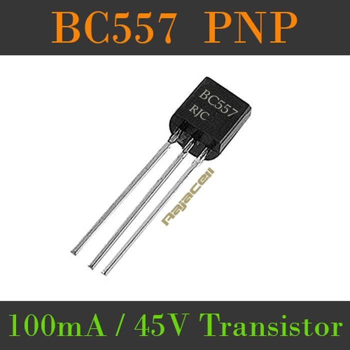 Transistor Bc557 Pnp 100Ma 45V 500Mw Multifunction Power Transistor - ready