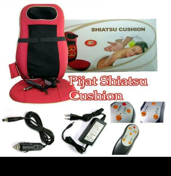 CUSHION MASSAGE SHIATSU INFRARED - KURSI PIJAT SEPERTI DI MAL