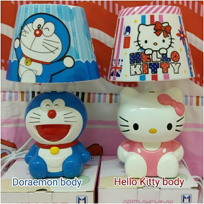 lampu meja/ tidur tudung karakter body usb Doraemon hello Kitty keropi @ lampu tidur proyektor ikea kamar anak karakter dinding unik led hias doraemon jamur bintang