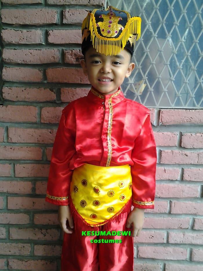 Promo Merdeka!! Gorontalo Sd1-3 | Baju Adat Kostum Karnaval Pentasseni Anakpria Daerah - ready stock