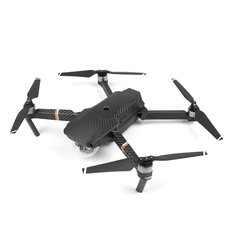 Imported Carbon Fiber Skin (Body + Remote + Electric) Sticker For DJI MAVIC