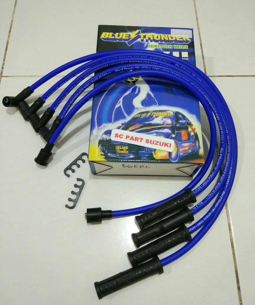 Kabel Cop Busi Split Fire Twin Core Racing Performance Page 2 Splitfire Tutup Cangklong Sparepart Lainnya Motor Source Blue Thunder Suzuki Jimny Katana