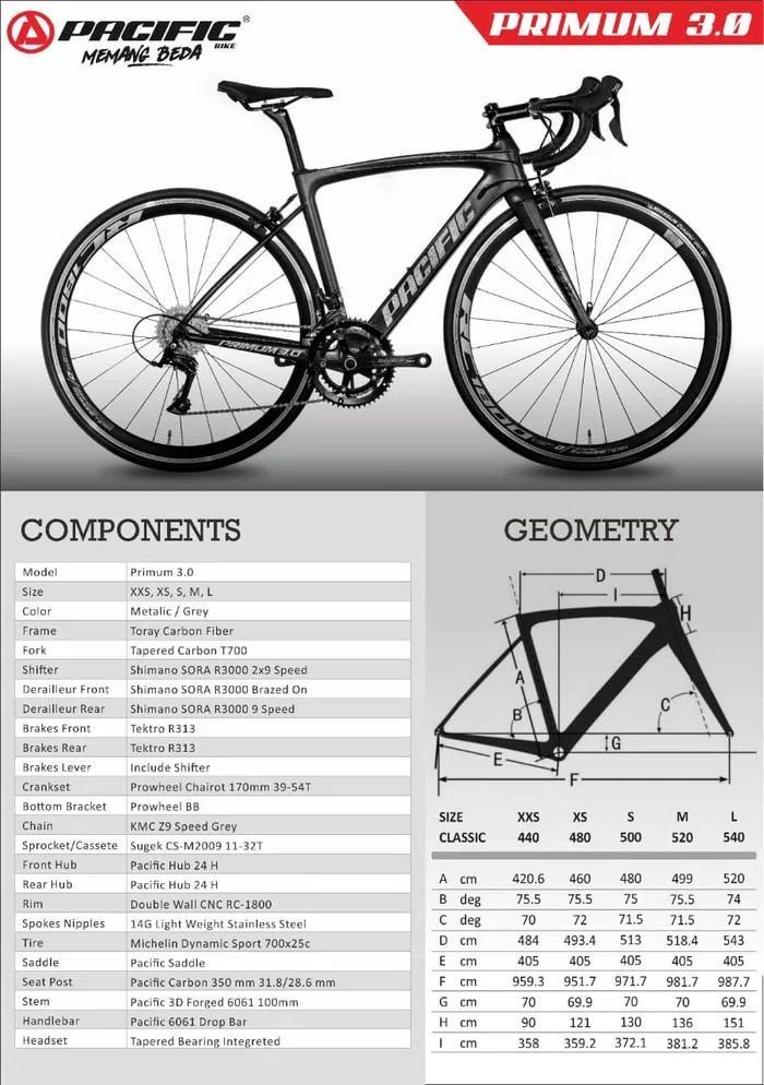 Pacific Roadbike Primum 3.0