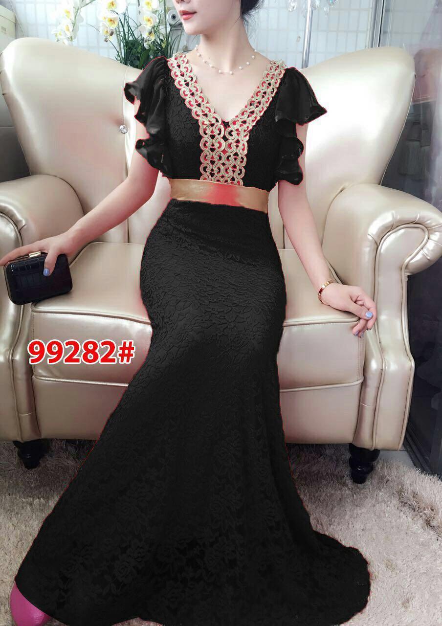 99282a# baju pesta import  / gaun pesta import / baju pesta brokat / longdress fashion import / gaun panjang