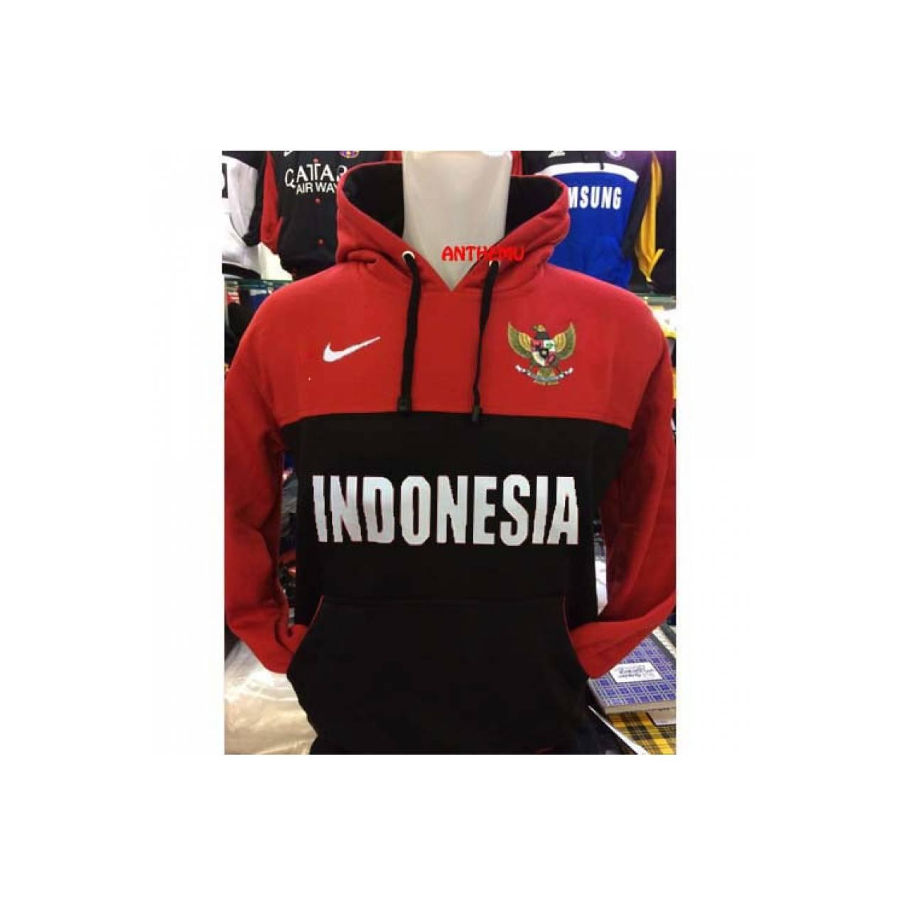Sweter INDONESIA TIMNAS Hoodie Bola Jersey 2017 KW AAA