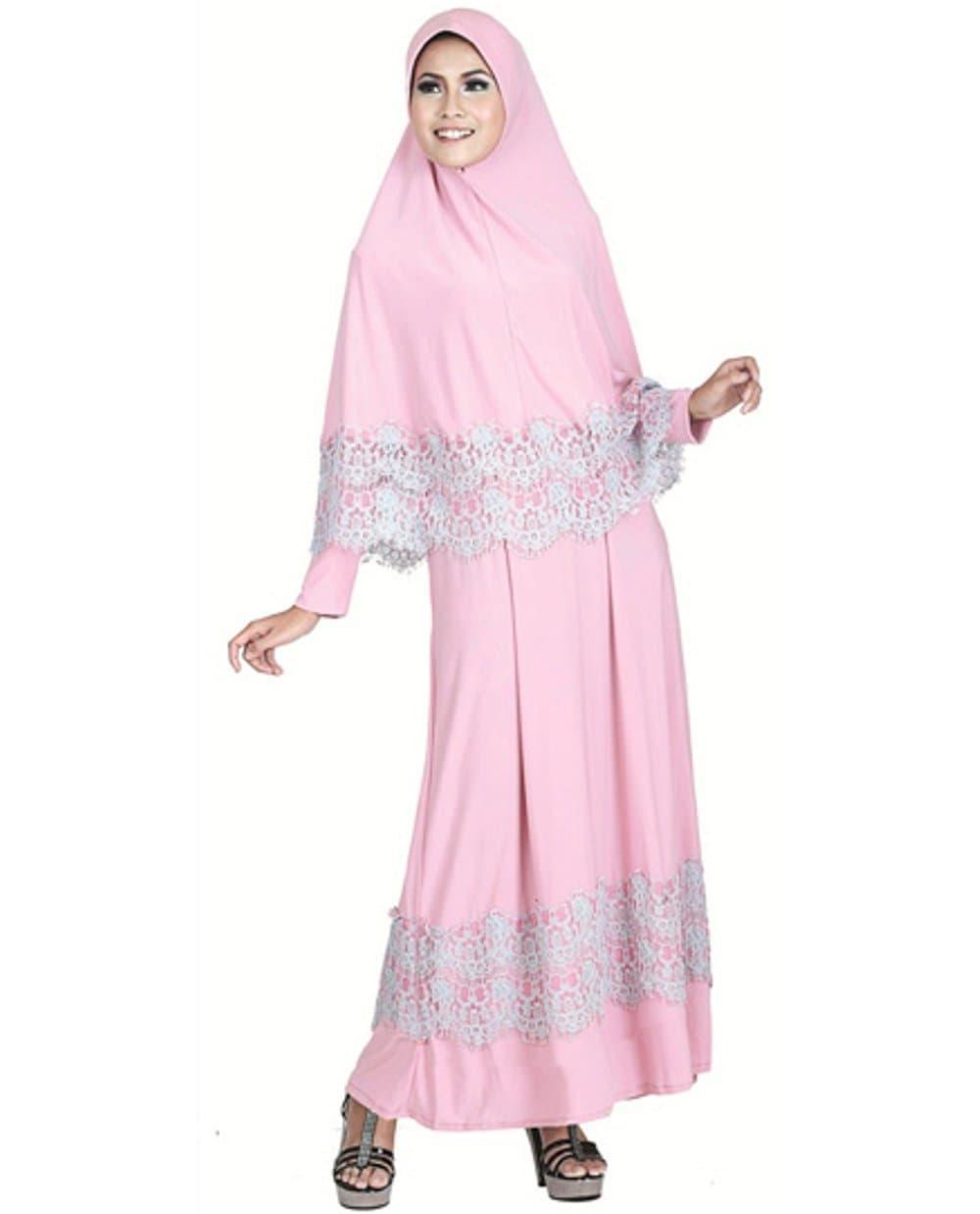 Baju Muslim Gamis Kode SNS 784B | Butik Baju Bandung Limited