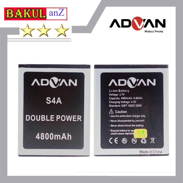Baterai Handphone Advan S4A Double Power Original - Batu Batre Batrai HP Advan S 4A