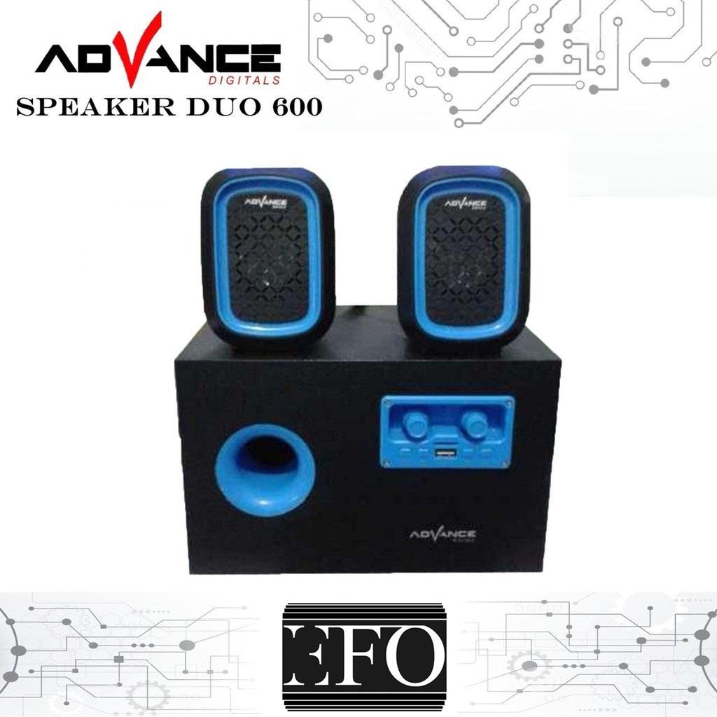 Harga Jual Advance R1 Portable Speaker Slot Usb Micro Sd Tf Card Er Duo 600 Support Aux Fm Radio Kartu