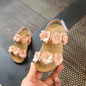 Harga preferensial Anak prempuan Sandal Summer 2018 model baru Gaya Korea Musim Panas anak-anak