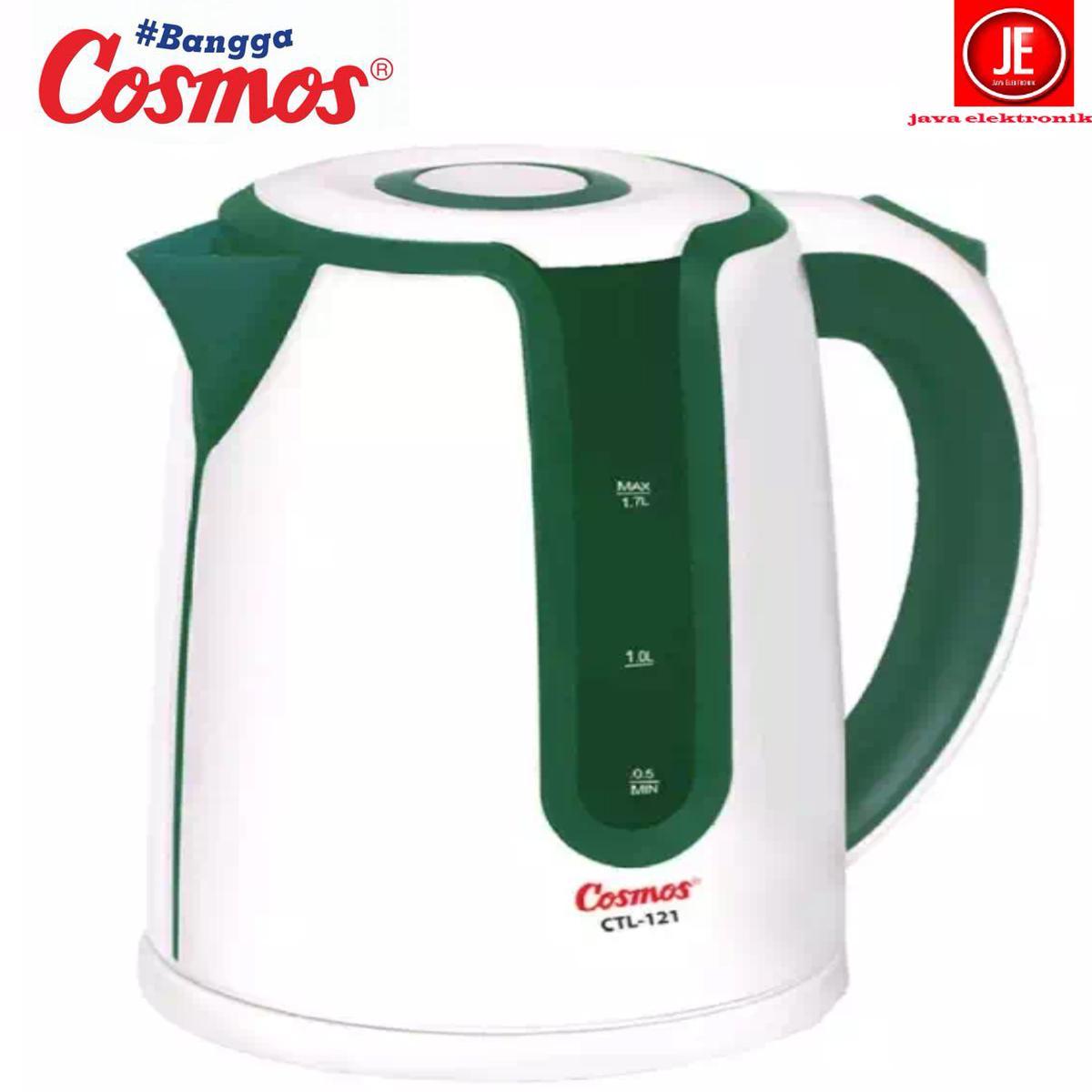 Cosmos Teko Listrik CTL 121 /kettle jar listrik/ketel garansi resmi