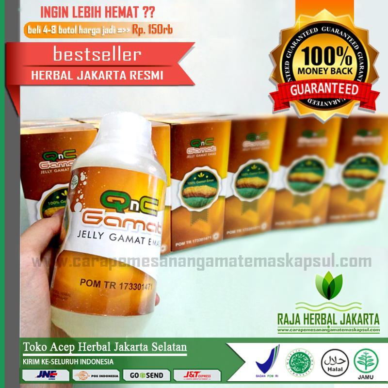 Jelly Gamat QnC Ekstrak Teripang Emas 100% Original - Asli Herbal Jakarta Selatan