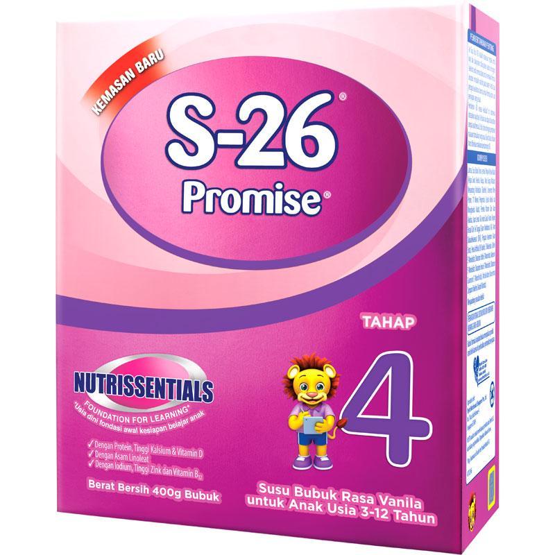 S-26 Promise Tahap 4 Vanila 400Gr