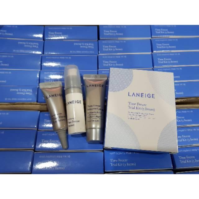 Laneige Time Freeze Trial Kit 3Ea
