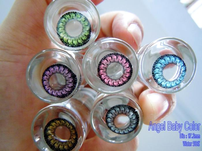 Softlens Baby Color Angel Series Violet (Ungu)