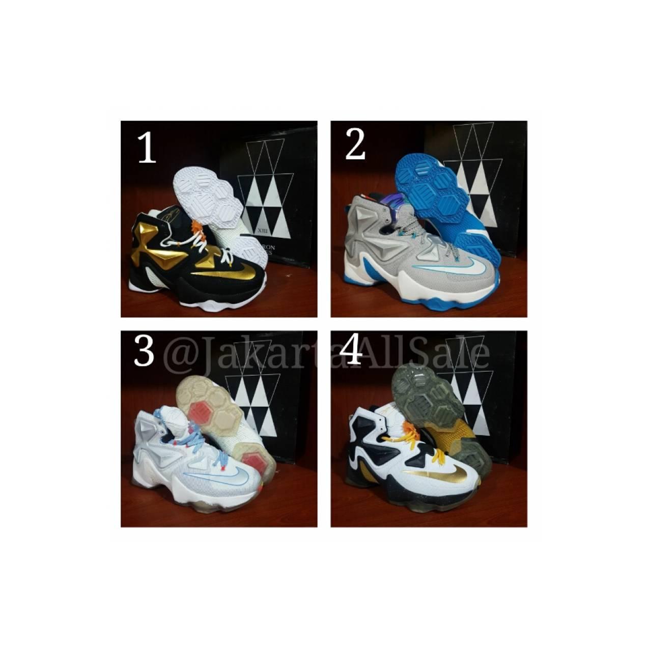Sepatu basket Nike lebron James 13 XIII Premium