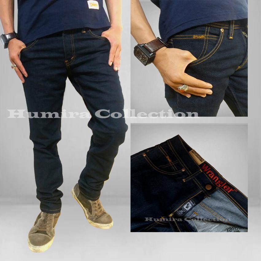 Celana Jeans Wrangler Skinny Straitch/Melar/lentur/ngaret-Biru Garmen-Branded Best Seller