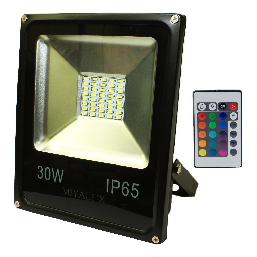 Lampu LED SOROT 30W Flood Light Lampu tembak RGB warna warni 30 watt